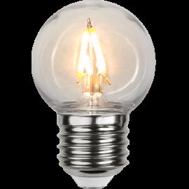 LED-Lampe E27 Outdoor Lighting G45 , hemmetshjarta.no