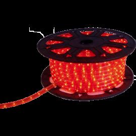 XX Lysslange Ropelight Flex LED Reel Utendørs Rød 1620 lys 4500cm , hemmetshjarta.no