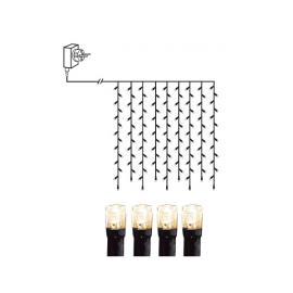 Lysgardin Utendørs EL Serie Micro LED Varmhvit 100 Lys 100cm , hemmetshjarta.no