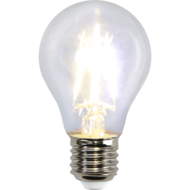 LED-Lampe E27 Ø60 lm470/40w Clear , hemmetshjarta.no