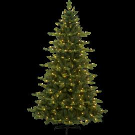 XX Juletre med LED Larvik EL Utendørs Varm Hvit 270 Lys 120x180cm , hemmetshjarta.no