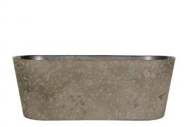 Hardplast Mud Krukke/Ovali 27,5x10x11cm , hemmetshjarta.no