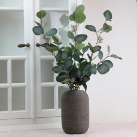Kunstig Eucalyptus med bær 70 cm , hemmetshjarta.no