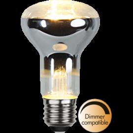 LED-Lampe E27 Reflector Ø63 Dim lm300/28w Clear , hemmetshjarta.no