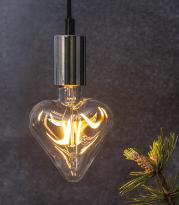 LED-Lampe E27 Decoled , hemmetshjarta.no